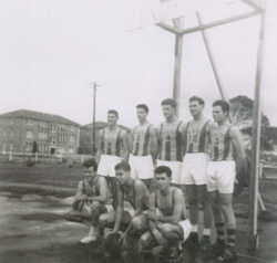 WWTC Basketball team, Newcastle, 1958