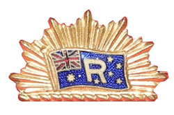 Riverina Movement badge