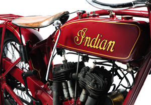 Indian motorbike DECO exhibition