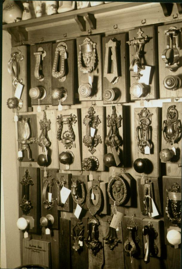 Sylvia Seccombes display of knockers