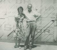 Bill Haberecht and daughter Oriel Begg