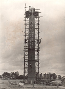 99 foot tall chimney, Chaston Street Wagga