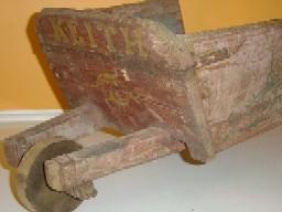 Keith Condon collection wheelbarrow