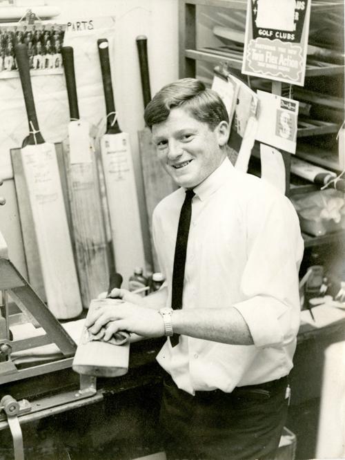 Warren Smith as a young man