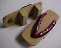 Mitsue's geta (sandals)
