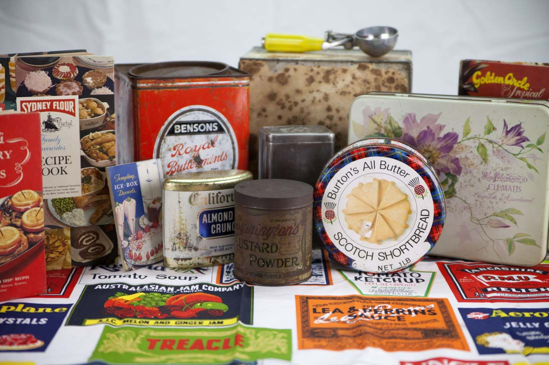 A peek inside the pantry Reminiscence Box