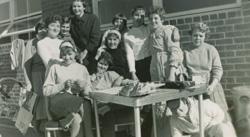 Kabi dorm girls, 1959
