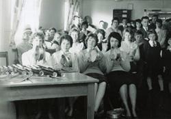 Demonstration class, 1962