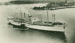 Migrant ship Skaugum