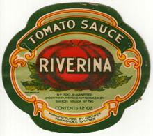 Bartle Nixon's Riverina Tomato Sauce