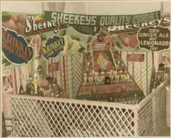 Sheekey's display, Wagga Show, c. 1950s
