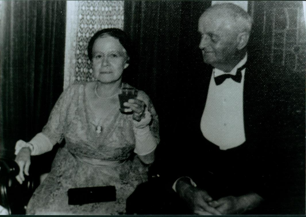 Austin and Sylvia Seccombe