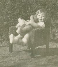 Keith Condon in his armchair